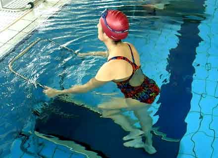 treadmill tapis roulant in acqua piscine montebelluna treviso