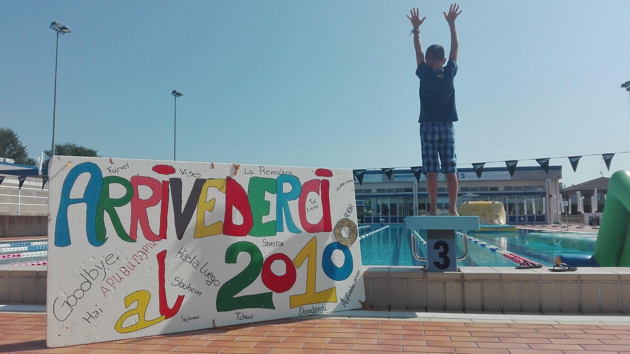 Piscina camping arrivederci al 2018 piscine montebelluna for Piscine 2018