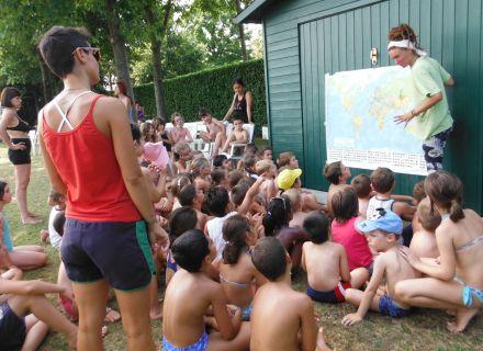 piscina camping centro estivo montebelluna