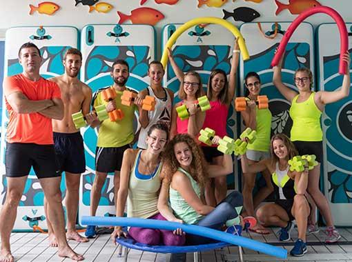 istruttrici-gym-piscina-montebelluna
