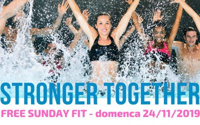 FREE SUNDAY FIT – Domenica 24 novembre 2019